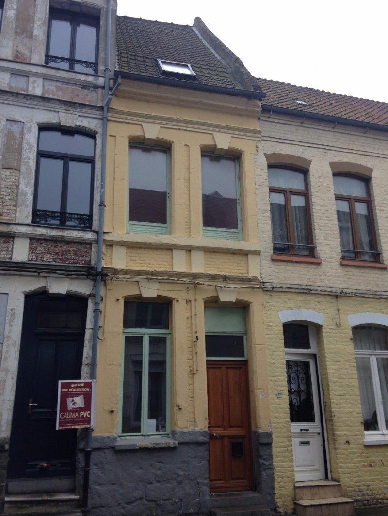 Vente maison r nover aire sur la lys for Garage margez aire sur la lys